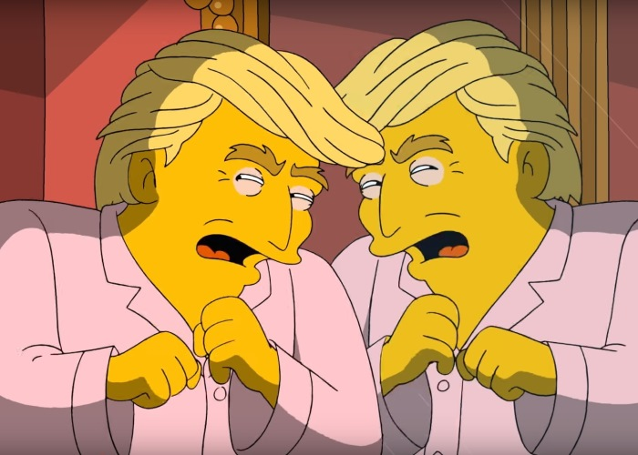 Trump Takes Hard Look at Himself; Guess What He Sees in New Simpsons Teaser! 12