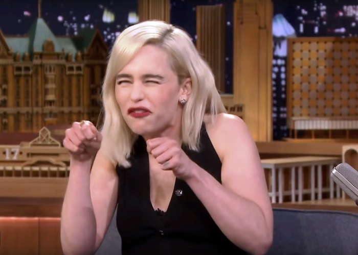 Emilia Clarke Tells Fallon About Working With a Wookee in New Star Wars Film 16