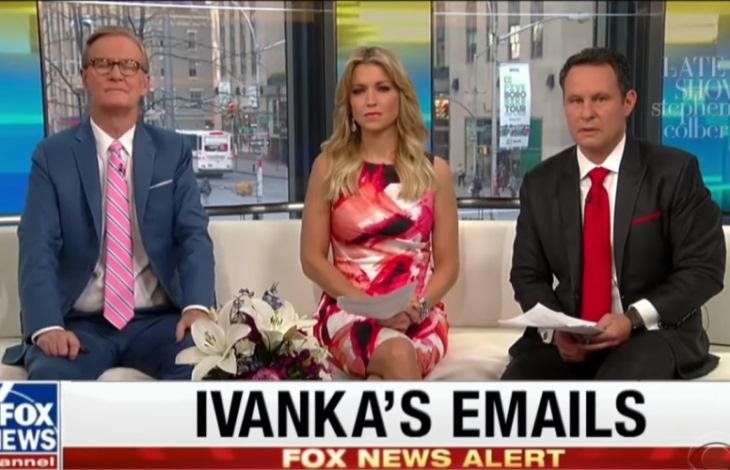 Ivanka Trump Email Scandal Greeted With Sound of Silence on Fox News (See!) 2