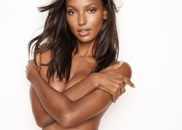 Jasmine Tookes Sheds Her Top To Shoo Away Winter Blues in Victoria's Secret (14 photos!) 8