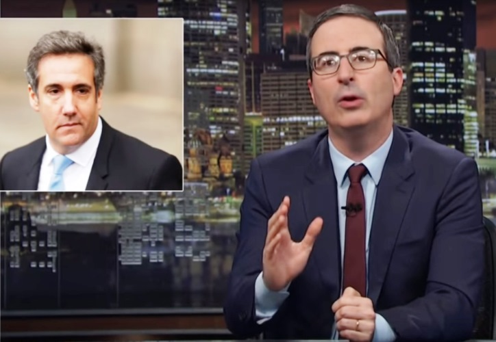 Trump Lawyer Michael Cohen's Swampy Dealings Dissected by John Oliver (Watch) 12