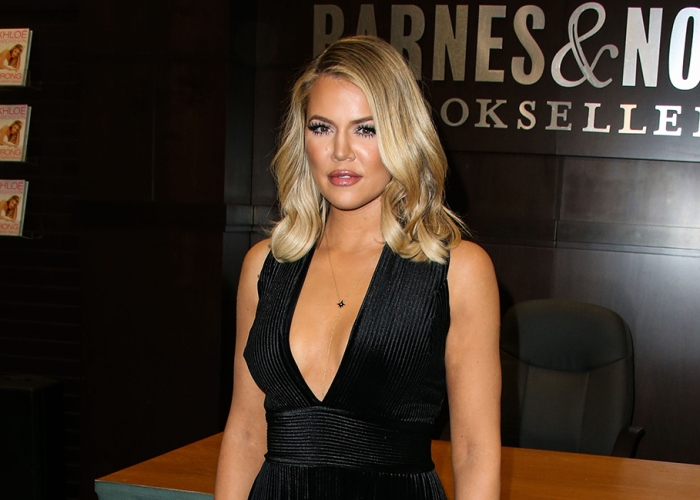 Khloé Kardashian Goes Total Barbie; See What She Did to Her Hair! 16