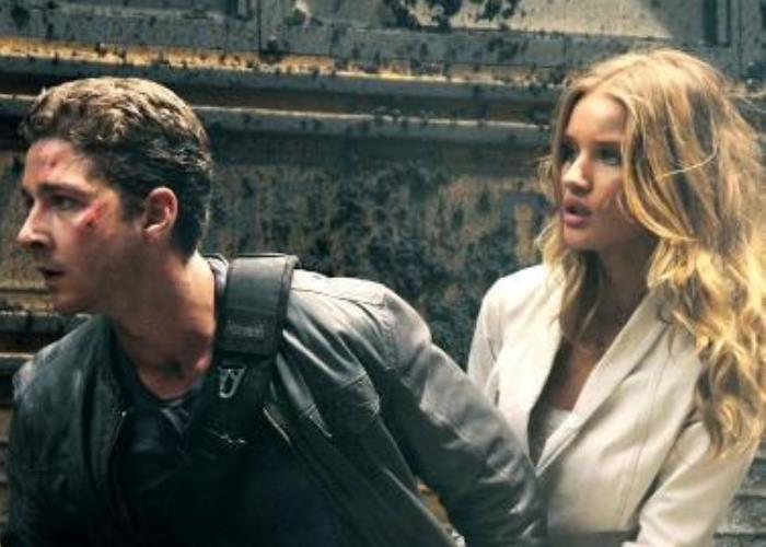 OMG! Rosie Huntington-Whiteley Towers Over Shia LaBeouf (watch!) 12