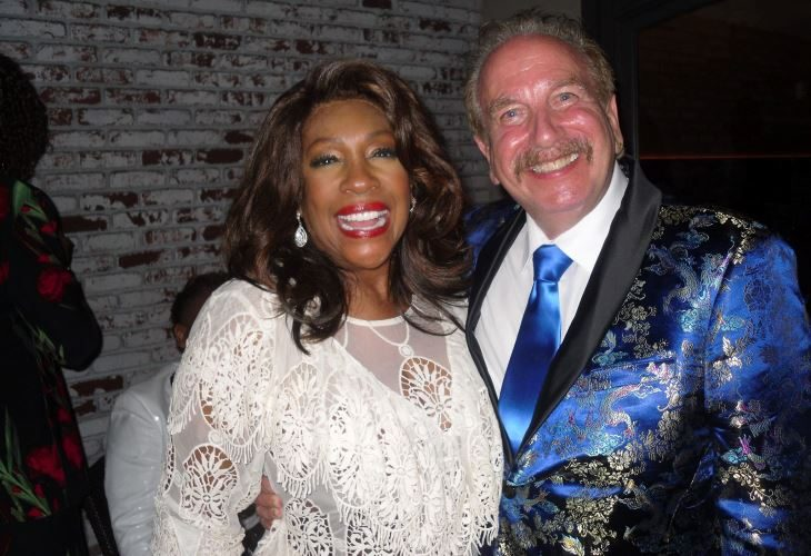 Mark Bego with the subject of his latest book, Mary Wilson of the '60s-era super group, The Supremes. (Photo: disCompany)