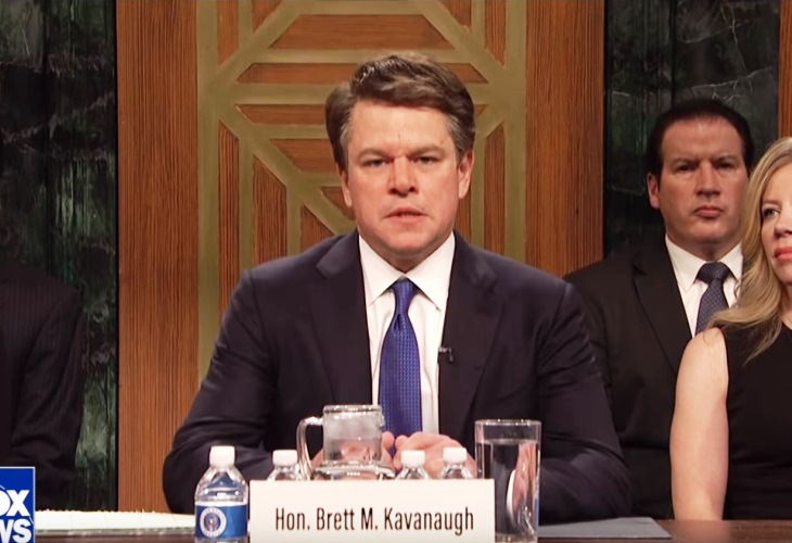 Brett Kavanaugh Follows Donald Trump as Butt of Jokes in SNL Cold Open (Watch) 12