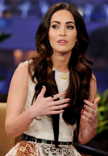 Megan Fox Talks Tattoos, Cursing in Cosmo, on Leno (watch!) 5