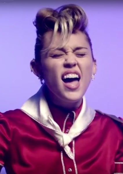 Miley Cyrus Goes Retro With Rock-a-Billy Tune That Recalls '50s (see) 24