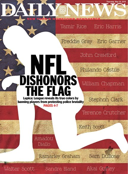NFL Kneeling Rule Disrespects Players; Subverts Democracy to Placate Autocrat 2