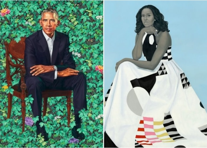 President Obama, Michelle Obama Reveal Official Portraits; Reactions... Ah, Mixed 2