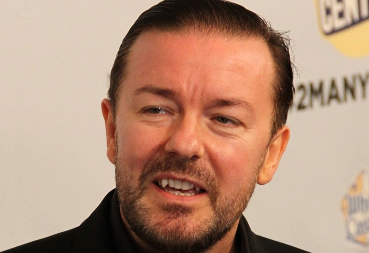 Ricky Gervais is ready to stick it to Hollywood again at the Golden Globes. (Photo: Thomas Atilla LewisThomas Atilla Lewis)