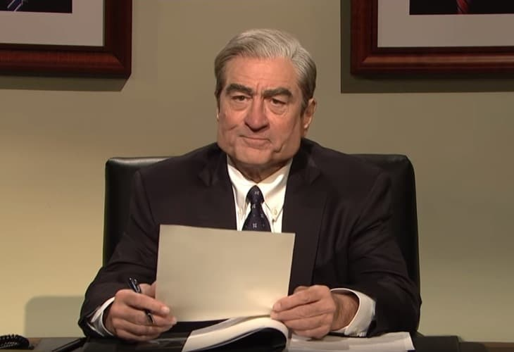 SNL Rolls Out 2 Big Guns--De Niro, Baldwin--for Robert Mueller Cold Open 2