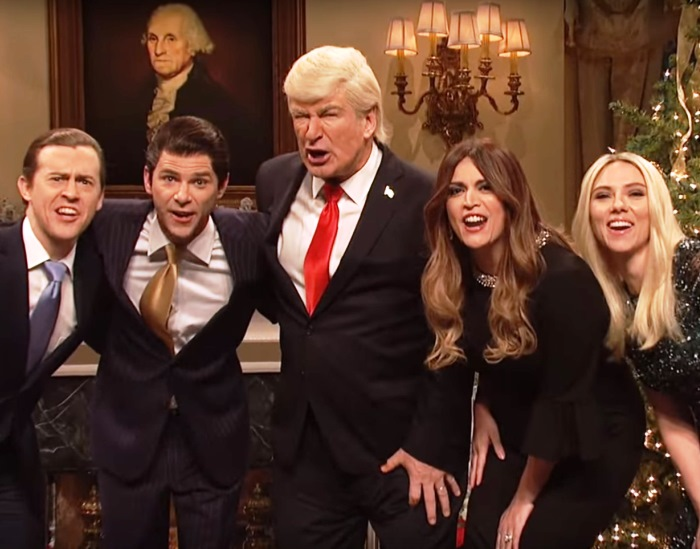 It's a Donald Trump Christmas on SNL, Complete With Tree of Shame (watch!) 16