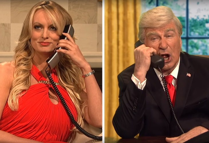 Donald Trump Scared and Horny Over Stormy Daniels in SNL Cold Open (See!) 6