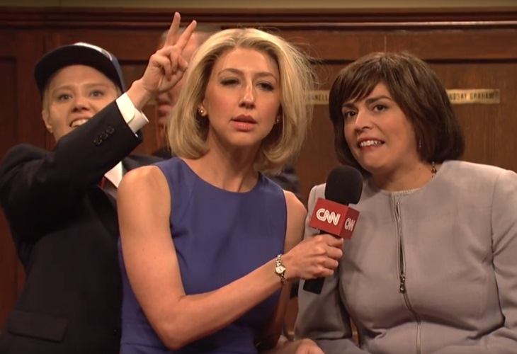 Susan Collins Parties With Big Dogs Over Kavanaugh Score in SNL Cold Open (See!) 1