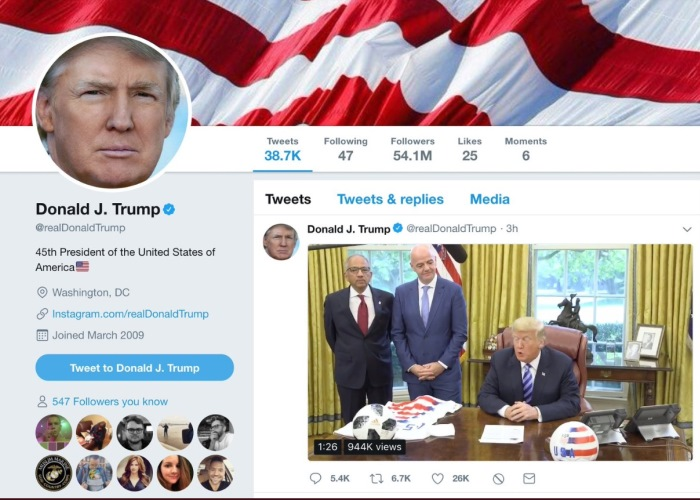Trump, Thumped on Twitter Blocks, Starts Adding Back Users; See Who! 4