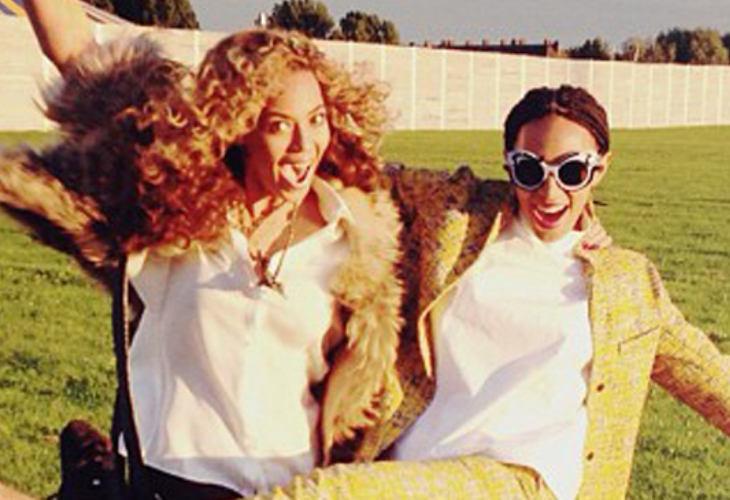 Beyonce and Solange Knowles had a cancer scare after their dad was diagnosed with breast cancer. (Photo: Bang ShowBiz)