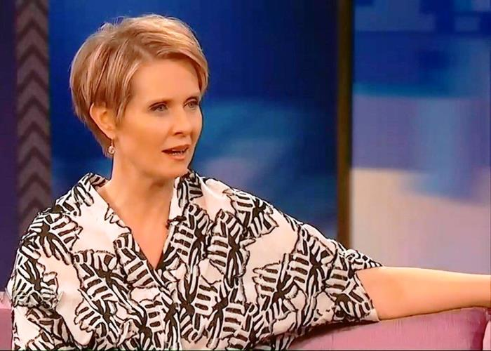 Cynthia Nixon High Hopes for Governor: Would Legalize Pot in New York (Video) 2