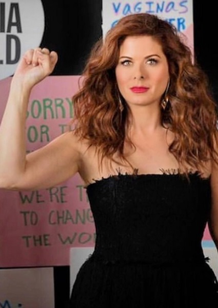 Debra Messing, of Will & Grace Fame, Campaigns Against TrumpCare 8