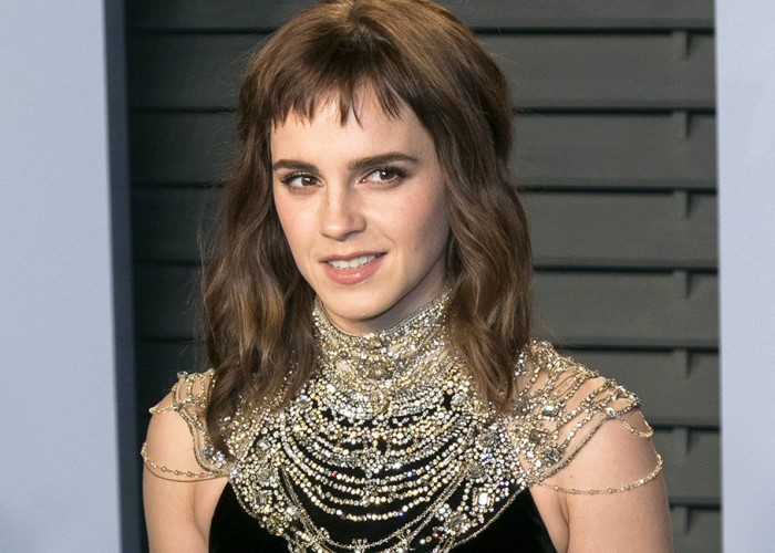 Emma Watson has flirted with nudity. (Photo: Bang ShowBiz)