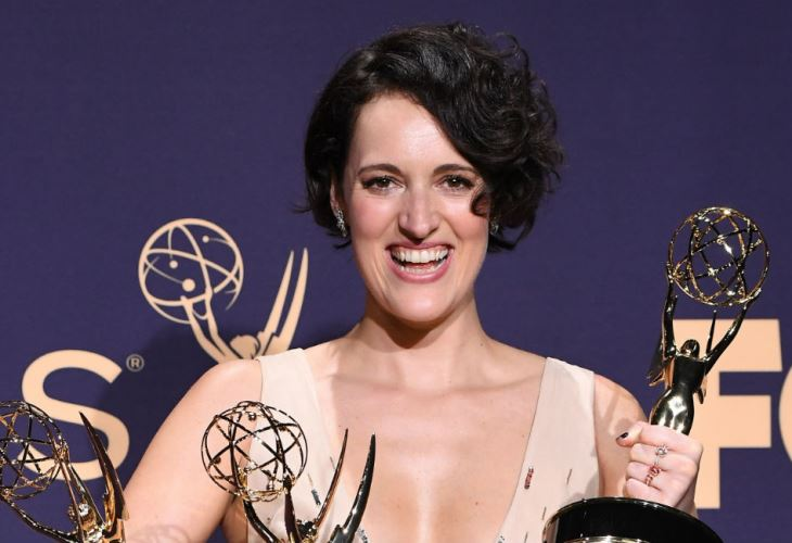 Phoebe Waller-Bridge found herself in a whirlwind at the 71st Emmy Awards. (Photo: BangShowBiz)