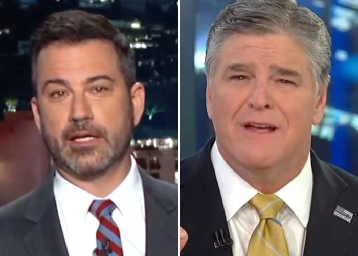 Jimmy Kimmel v. Sean Hannity: Who You Callin' Ass Clown, You Ass Circus (See) 4