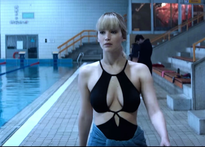 Naked? Who, Me?  Jennifer Lawrence Totally Cool About Red Sparrow Nudity 2