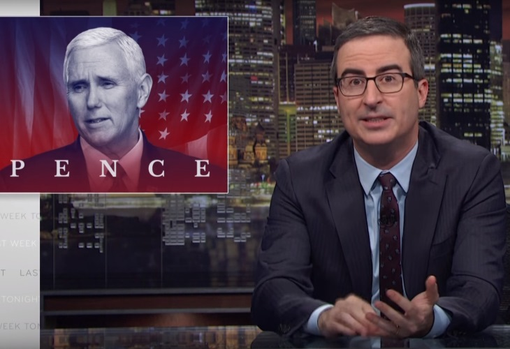 Mike Pence, Heartbeat From Presidency, Is The Real Whack Job, Says John Oliver 16