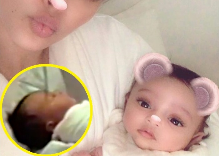 Kim Kardashian Whitens Baby Chicago West in First Photo Together (See!) 4