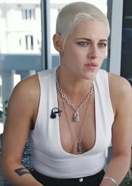 kristen stewart cannes 2017 short hair Come Swim
