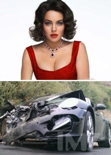 Lindsay Lohan's Porsche Crash Doesn't Add Up, Here's Why 2