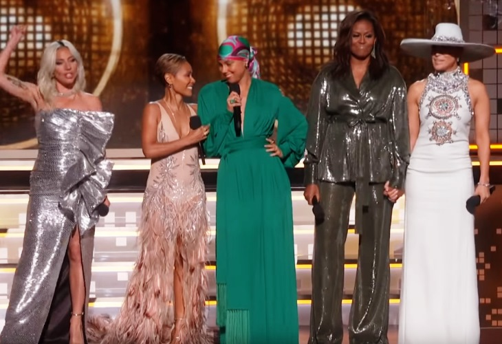 Surprise! Michelle Obama Hits 61st Grammys; Melania, Ivanka Snubbed (See!) 6