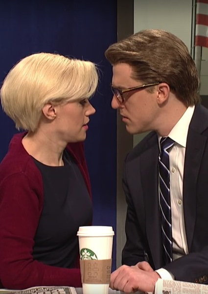Joe and Mika Get Freaky in SNL Skit, But 'The Donald' Steals It (Watch!) 46