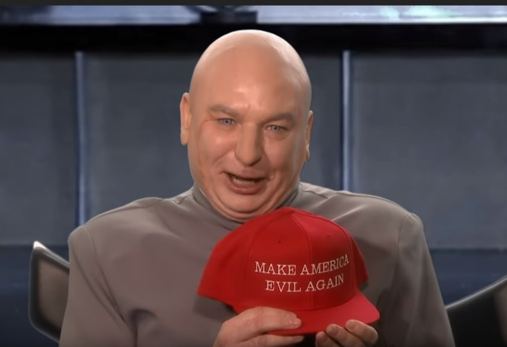 Dr. Evil Emerges to 'Make Trump America Evil Again' in Run for Congress (See!) 12