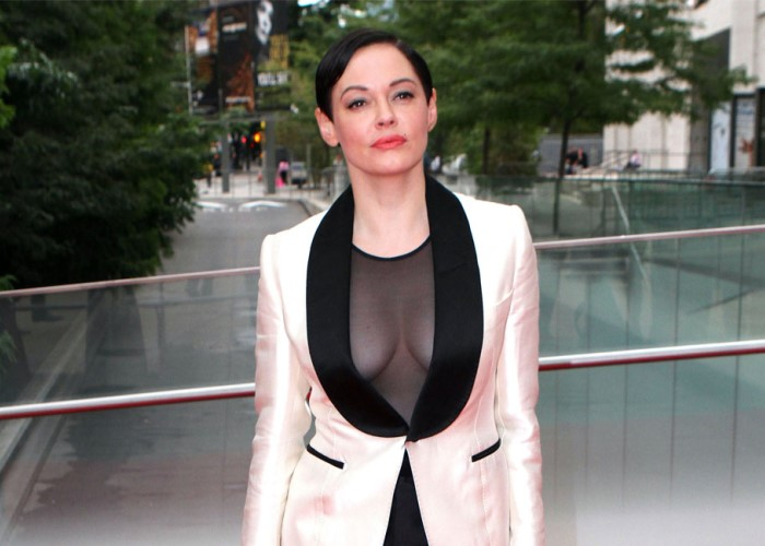 Rose McGowan 'Harvey-Did-It' Defense Flops; Indicted on Cocaine Charges 8