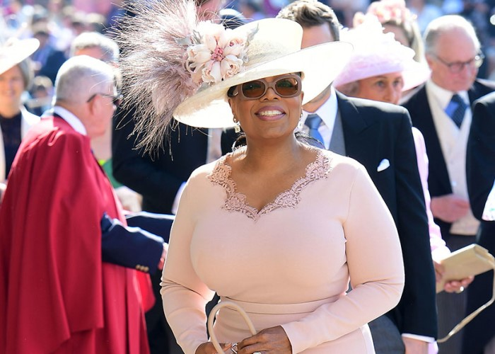 How Oprah Winfrey Barely Avoided Major Dress Fail at Royal Wedding (Video!) 14