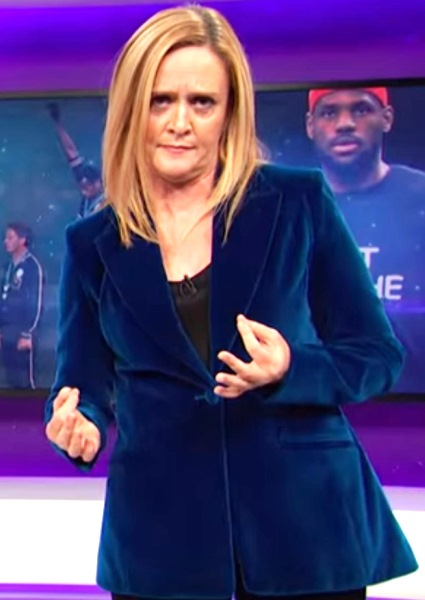 Samantha Bee Stings Donald Trump, Fox News Over NFL Protests (See!) 8