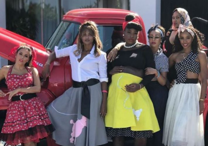 Serena Williams Goes Back to Future With '50s Themed Baby Shower (See!) 4