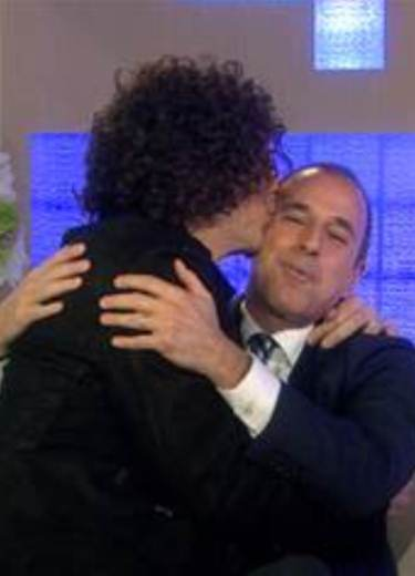 Howard Stern Lip Smacks Matt Lauer on Today (watch!) 34