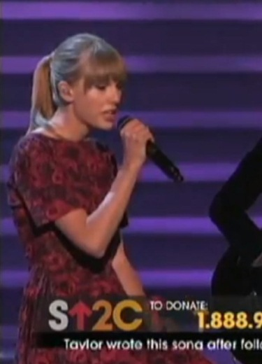 Taylor Swift Unveils New Song at Cancer Telethon (watch!) 32