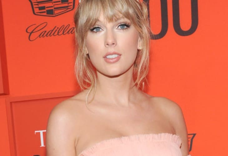 Taylor Swift tells Glamour magazine she feels jaded about relationships and unfairly portrayed in the media. (Photo: Bang ShowBiz)