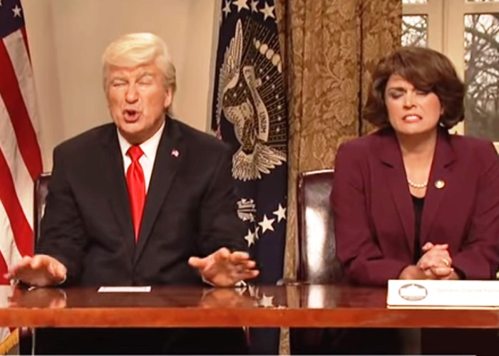 Donald Trump Has Answer to Gun Crisis, Then He Doesn't on SNL (Watch!) 12