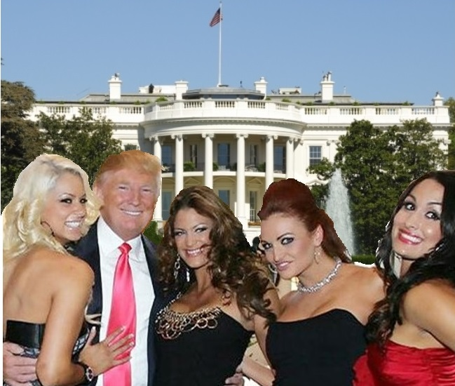 Donald Trump Up to His Legal Eyeballs in Porn Stars, Playmates, Angry Women 2